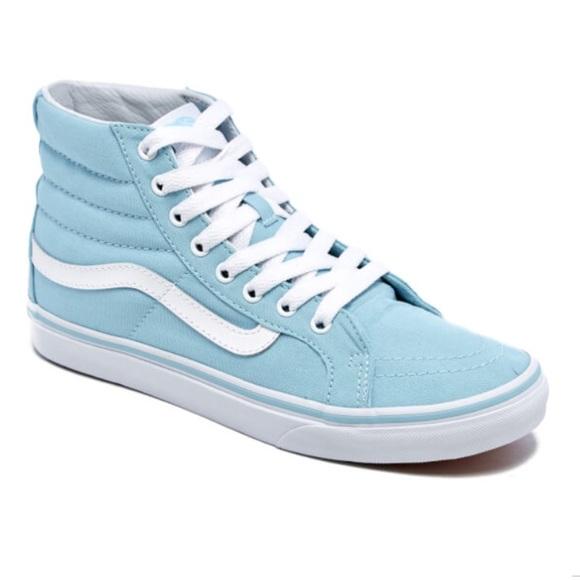 NWT Vans Sk8-Hi Slim Canvas Sneakers 4ed3a80268